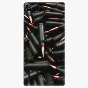 Plastový kryt iSaprio - Black Bullet - Huawei Ascend P7