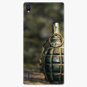 Plastový kryt iSaprio - Grenade - Huawei Ascend P7