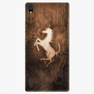 Plastový kryt iSaprio - Vintage Horse - Huawei Ascend P7