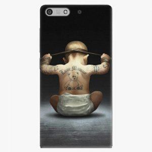 Plastový kryt iSaprio - Crazy Baby - Huawei Ascend P7 Mini