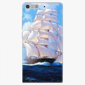 Plastový kryt iSaprio - Sailing Boat - Huawei Ascend P7 Mini