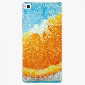 Plastový kryt iSaprio - Orange Water - Huawei Ascend P8