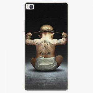 Plastový kryt iSaprio - Crazy Baby - Huawei Ascend P8