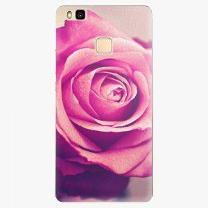 Plastový kryt iSaprio - Pink Rose - Huawei Ascend P9 Lite