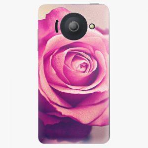 Plastový kryt iSaprio - Pink Rose - Huawei Ascend Y300
