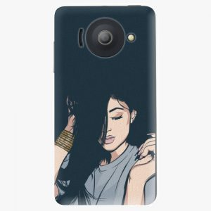 Plastový kryt iSaprio - Swag Girl - Huawei Ascend Y300