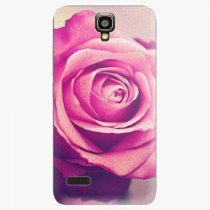 Plastový kryt iSaprio - Pink Rose - Huawei Ascend Y5