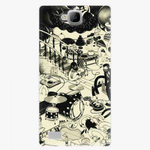 Plastový kryt iSaprio - Underground - Huawei Honor 3C
