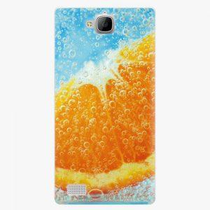 Plastový kryt iSaprio - Orange Water - Huawei Honor 3C