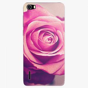 Plastový kryt iSaprio - Pink Rose - Huawei Honor 6