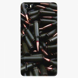 Plastový kryt iSaprio - Black Bullet - Huawei Honor 6