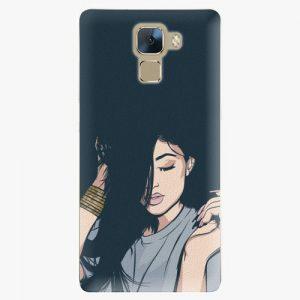 Plastový kryt iSaprio - Swag Girl - Huawei Honor 7