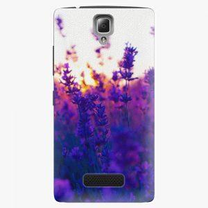 Plastový kryt iSaprio - Lavender Field - Lenovo A2010