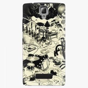 Plastový kryt iSaprio - Underground - Lenovo A2010