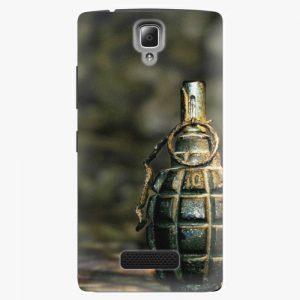 Plastový kryt iSaprio - Grenade - Lenovo A2010