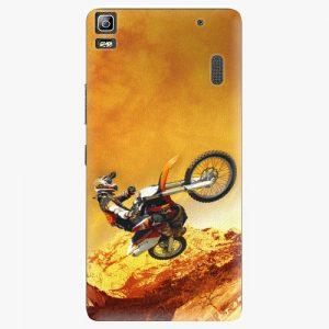 Plastový kryt iSaprio - Motocross - Lenovo A7000