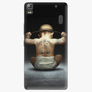 Plastový kryt iSaprio - Crazy Baby - Lenovo A7000