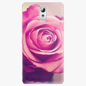 Plastový kryt iSaprio - Pink Rose - Lenovo P1m