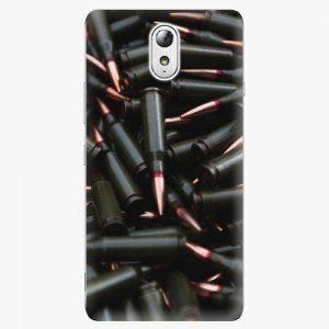 Plastový kryt iSaprio - Black Bullet - Lenovo P1m