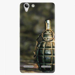 Plastový kryt iSaprio - Grenade - Lenovo Vibe K5