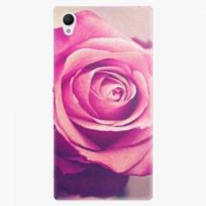 Plastový kryt iSaprio - Pink Rose - Sony Xperia Z1