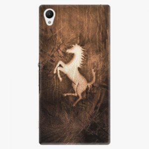 Plastový kryt iSaprio - Vintage Horse - Sony Xperia Z1