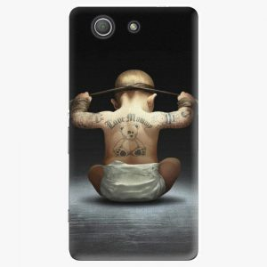 Plastový kryt iSaprio - Crazy Baby - Sony Xperia Z3 Compact