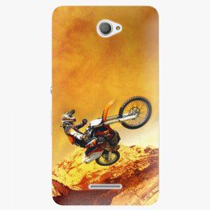 Plastový kryt iSaprio - Motocross - Sony Xperia E4