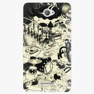 Plastový kryt iSaprio - Underground - Sony Xperia E4