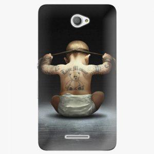 Plastový kryt iSaprio - Crazy Baby - Sony Xperia E4