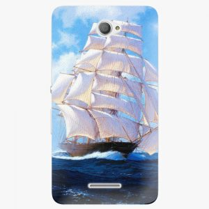 Plastový kryt iSaprio - Sailing Boat - Sony Xperia E4