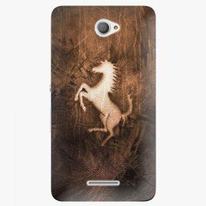 Plastový kryt iSaprio - Vintage Horse - Sony Xperia E4