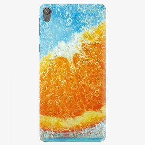 Plastový kryt iSaprio - Orange Water - Sony Xperia E5
