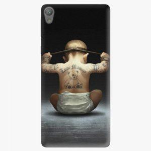 Plastový kryt iSaprio - Crazy Baby - Sony Xperia E5