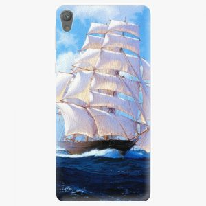 Plastový kryt iSaprio - Sailing Boat - Sony Xperia E5
