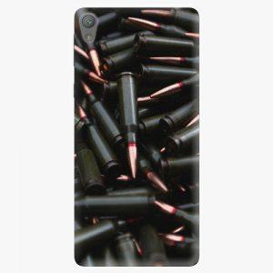 Plastový kryt iSaprio - Black Bullet - Sony Xperia E5