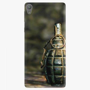 Plastový kryt iSaprio - Grenade - Sony Xperia E5