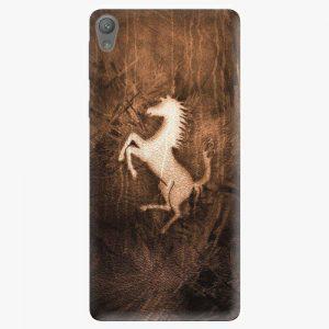 Plastový kryt iSaprio - Vintage Horse - Sony Xperia E5