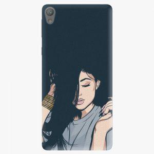 Plastový kryt iSaprio - Swag Girl - Sony Xperia E5
