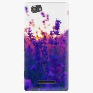 Plastový kryt iSaprio - Lavender Field - Sony Xperia M