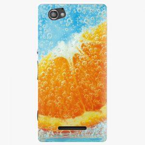 Plastový kryt iSaprio - Orange Water - Sony Xperia M