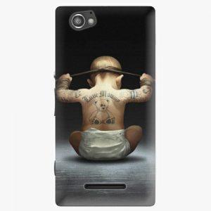 Plastový kryt iSaprio - Crazy Baby - Sony Xperia M