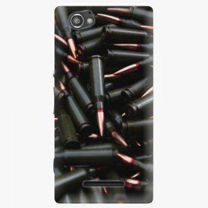 Plastový kryt iSaprio - Black Bullet - Sony Xperia M