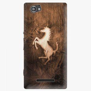 Plastový kryt iSaprio - Vintage Horse - Sony Xperia M