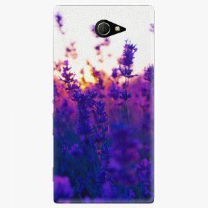Plastový kryt iSaprio - Lavender Field - Sony Xperia M2