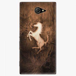 Plastový kryt iSaprio - Vintage Horse - Sony Xperia M2