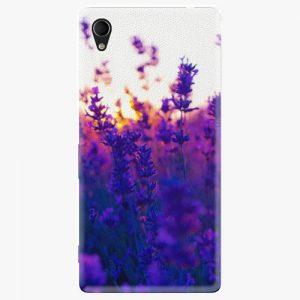 Plastový kryt iSaprio - Lavender Field - Sony Xperia M4