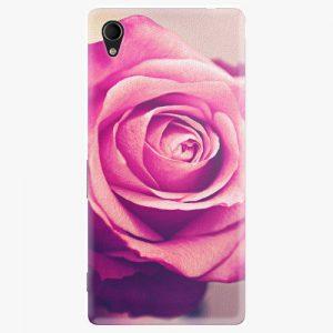 Plastový kryt iSaprio - Pink Rose - Sony Xperia M4