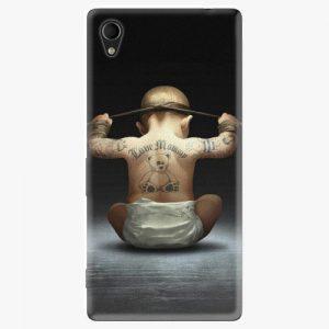 Plastový kryt iSaprio - Crazy Baby - Sony Xperia M4