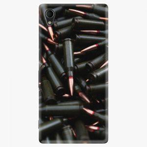 Plastový kryt iSaprio - Black Bullet - Sony Xperia M4